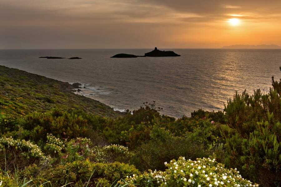 Les îles Finocchiarola au large du cap Corse
