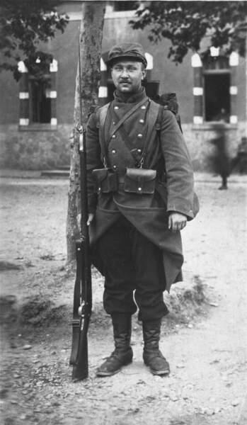 Alexandre Zinoview « Engagé volontaire », 1914