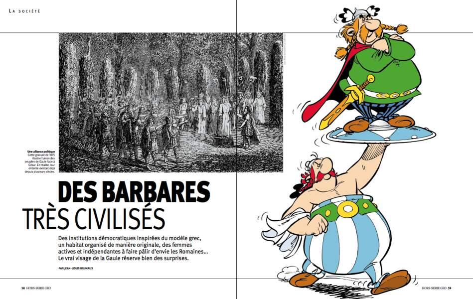 Des barbares très civilisés