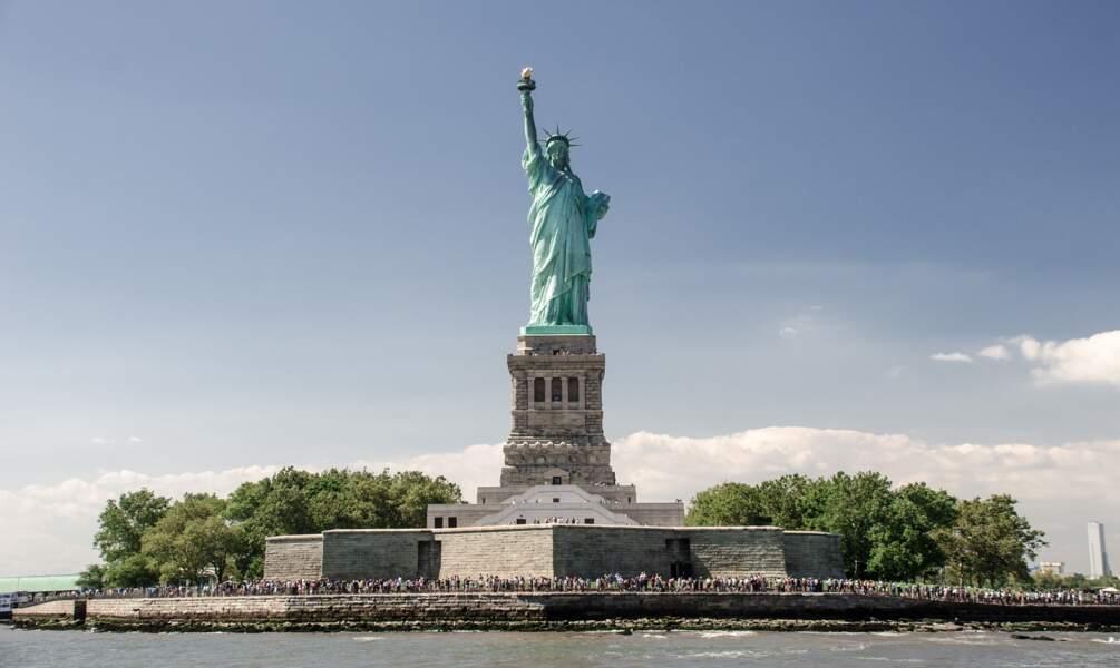 2 - La Statue de la Liberté à New York, Etats-Unis