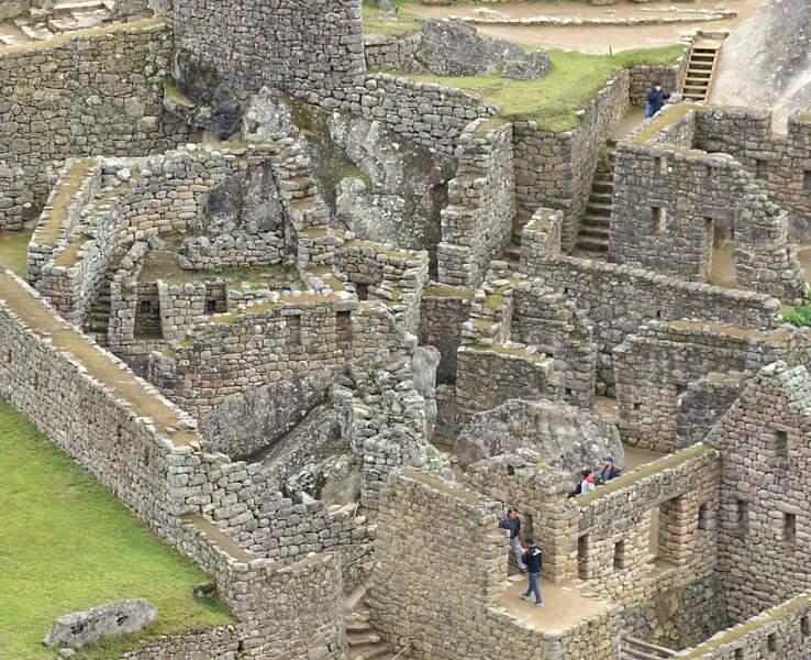 Cité considérée comme une œuvre maîtresse de l'architecture inca