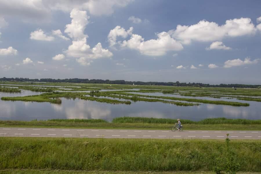 Bol d'air sur le polder