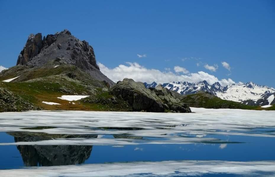 Photo prise au Lac de Roburent (Italie) par le GEOnaute : totobr