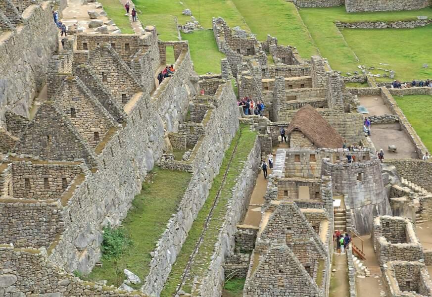 Cette majestueuse cité inca a été redécouverte en 1911