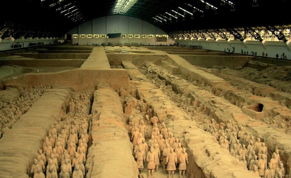Le mausolée de l'empereur de Chine