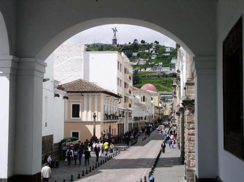 Quito en Equateur
