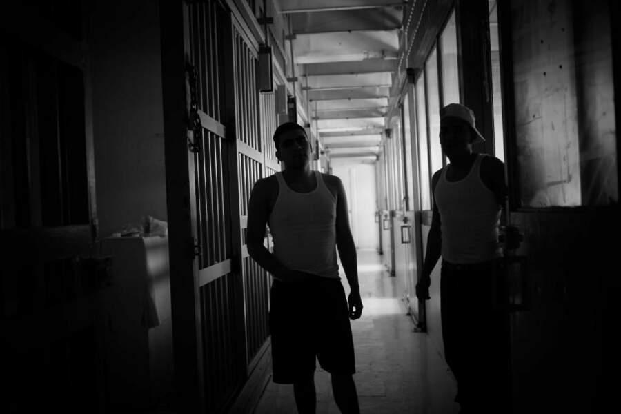 Photo prise dans une prison pour mineurs de Mexico par le GEOnaute : michelgabrielduffour