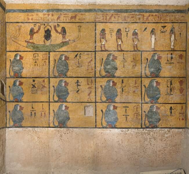 Des peintures endommagées par la présence des visiteurs