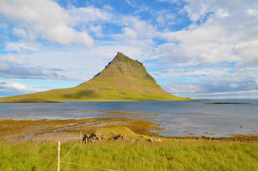 5e destination: la montagne Kirkjufell en Islande