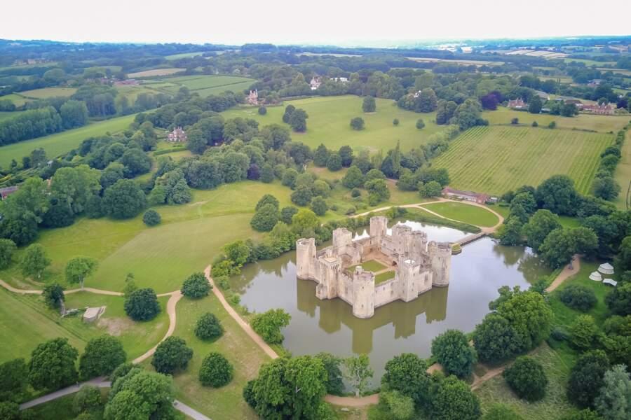 Château de Bodiam, Sussex de l'Est, Angleterre