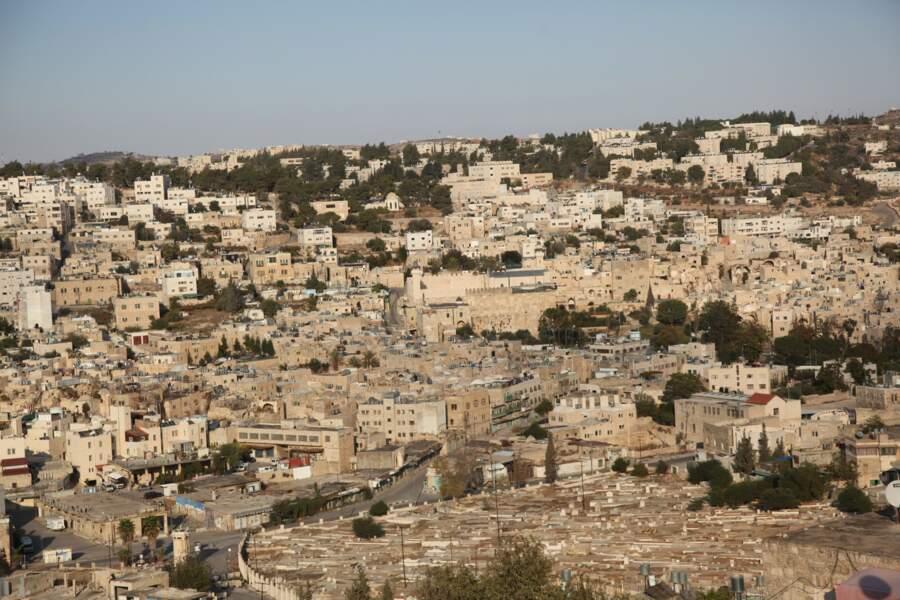 Vieille ville d'Al-Khalil à Hébron, en Palestine