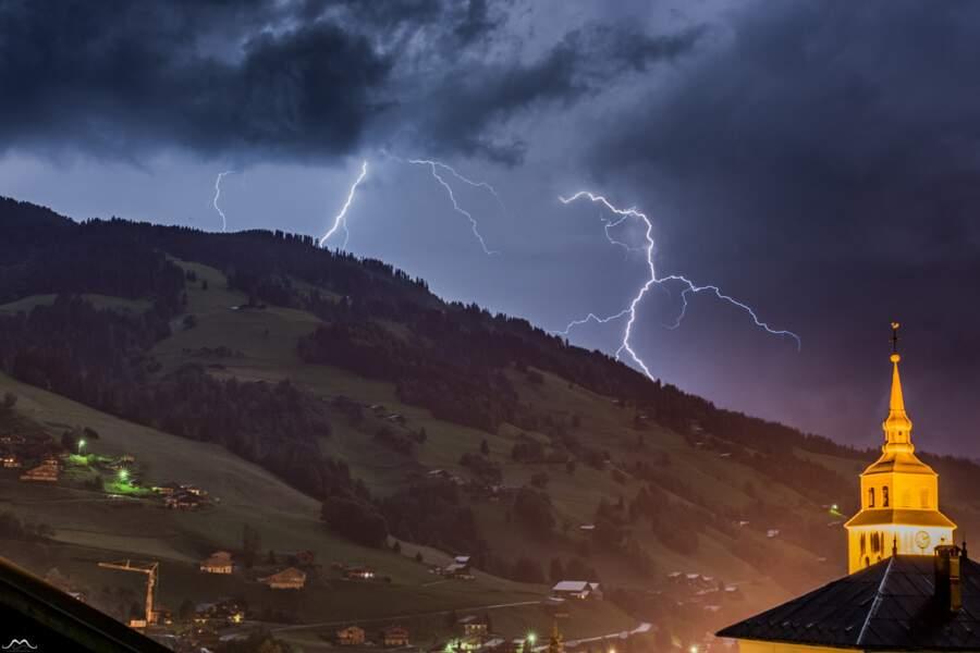 Arêches (Savoie) : triplé lors de l'orage du 30 juin 2016