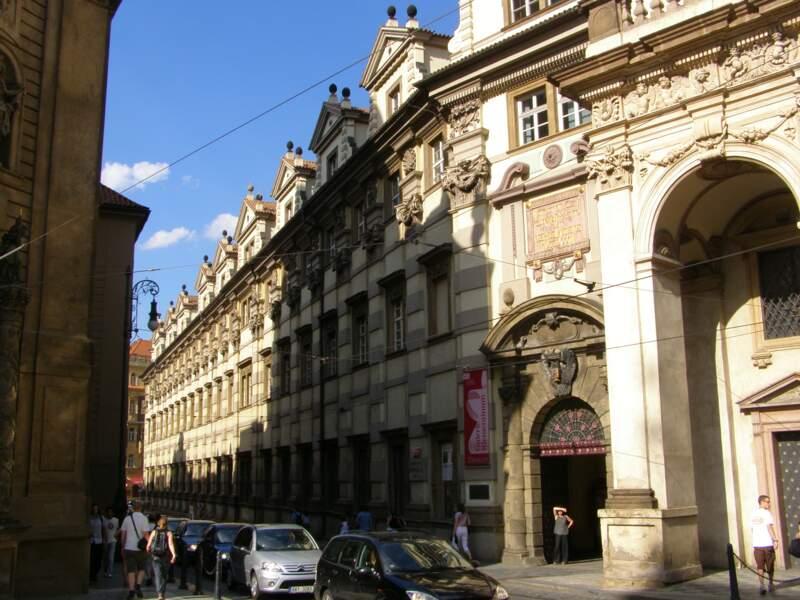 La bibliothèque du Clementinum, un joyau national