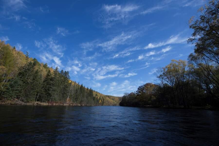 La vallée de la rivière Bikine, en Russie