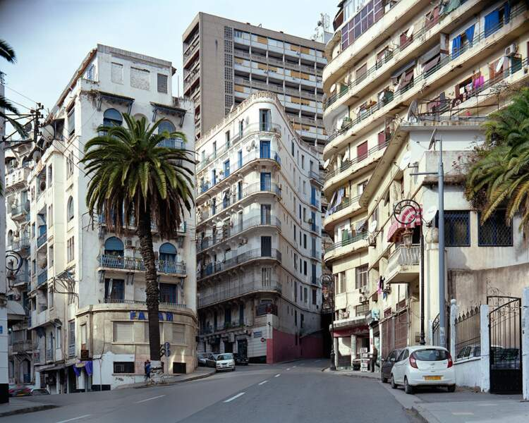 Boulevard Mohamed V (anciennement boulevard Camille Saint-Saëns), Alger
