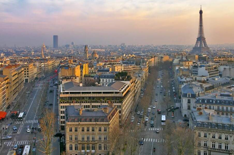 Paris, ville lumière, par Eigerwand
