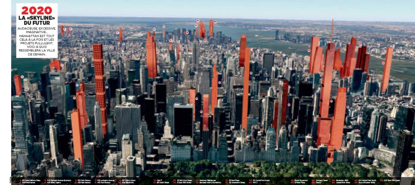 """EN COUVERTURE : Dépliant - 2020, la """"skyline"""" du futur"""