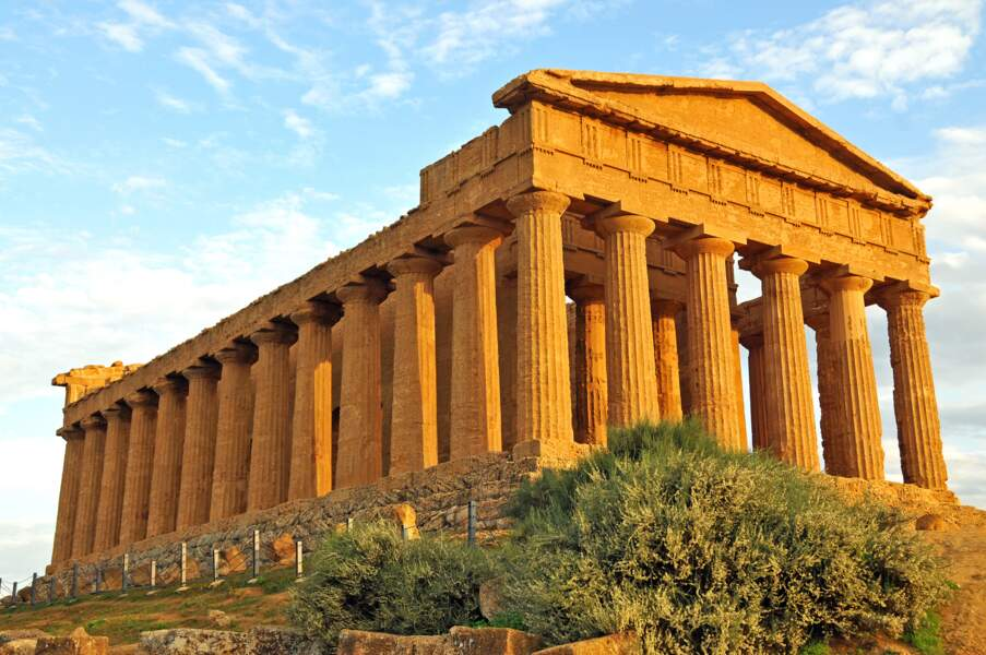 Les temples d'Agrigente