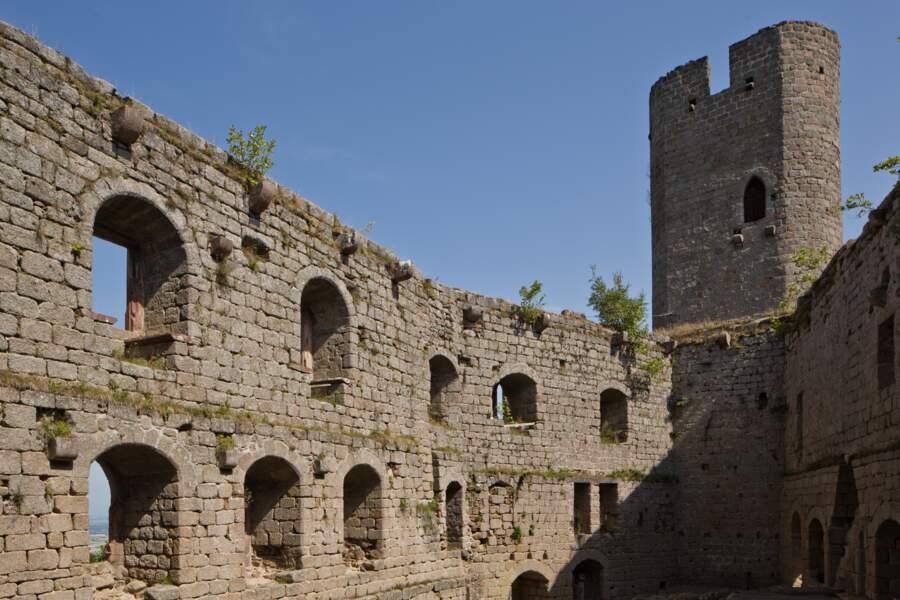 Andlau, un château fort haut perché