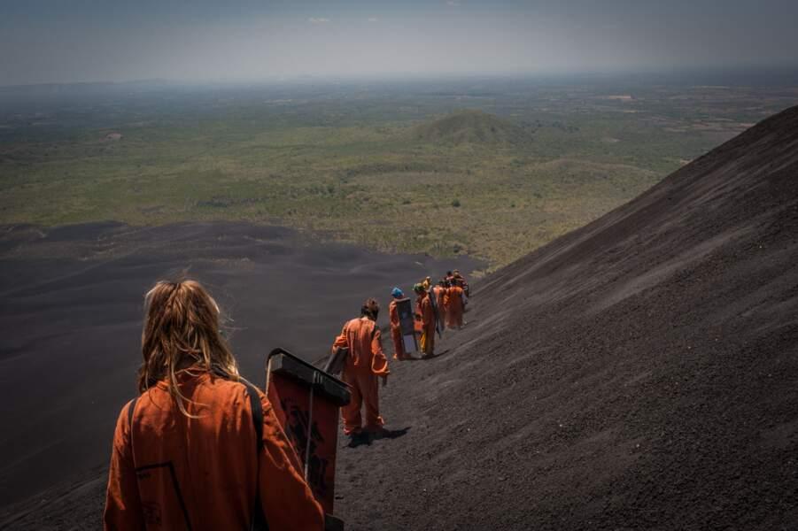 Planche à volcan