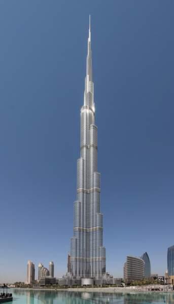 6 - Burj Khalifa à Dubaï, Emirats arabes unis