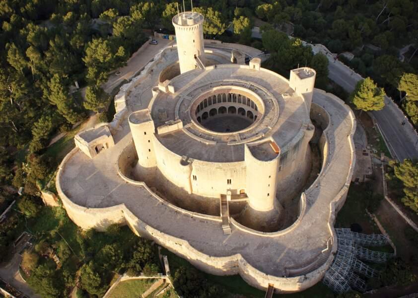 Château de Bellver, Majorque, Espagne