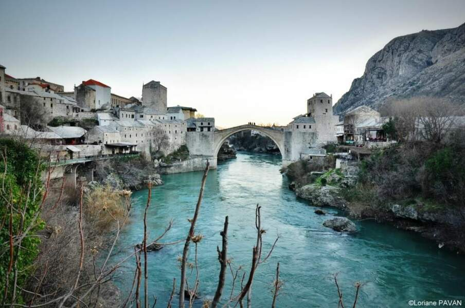 Photo prise à Mostar (Bosnie-Herzégovine) par cottonflower