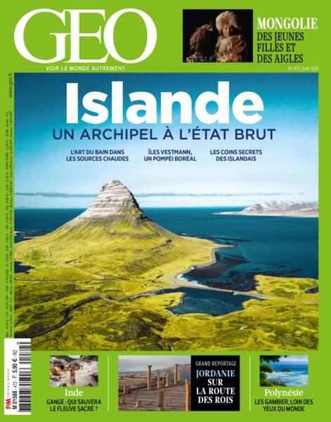 Sujet complet à découvrir dans le GEO de juin (n°472, Islande), en kiosque jusqu'à la fin du mois