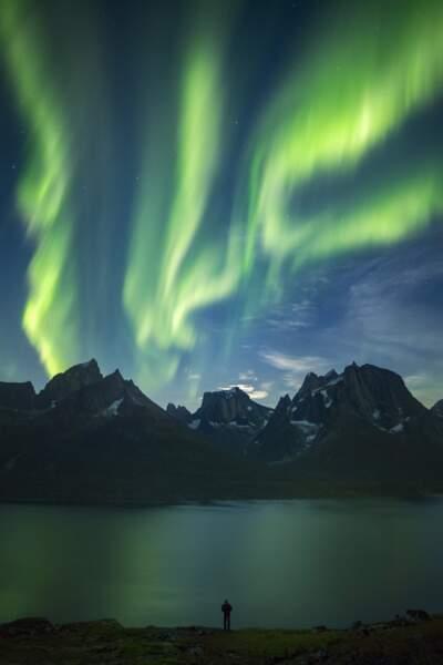Au Groenland, quand le fjord Tasermiut s'embrase