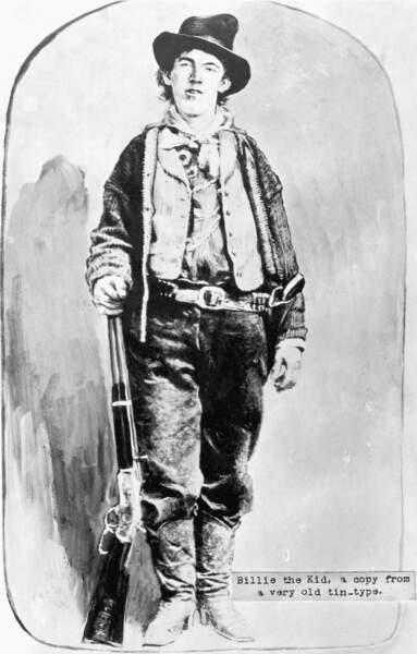 Billy the kid : l'enfant terrible, spécialiste de l'évasion
