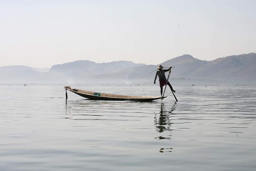 Photo prise au Lac Inle (Birmanie) par Julien Bailleux