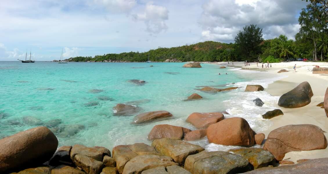 24 - Anse Lazio, île de Praslin, Seychelles