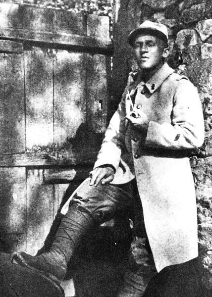 Blaise Cendrars, « Engagé volontaire », 1914