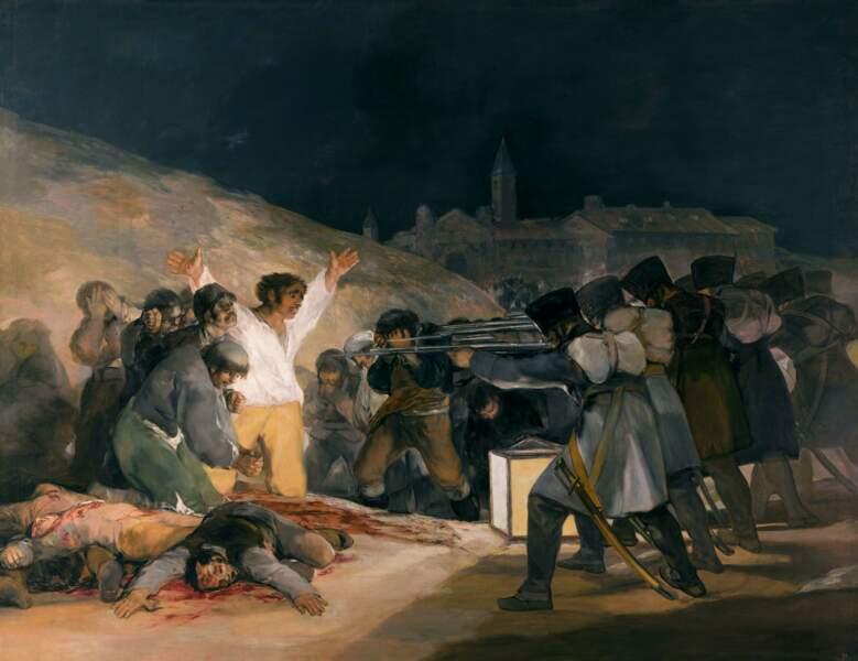 La fusillade de Moncloa, Francisco de Goya y Lucientes (1746-1828)