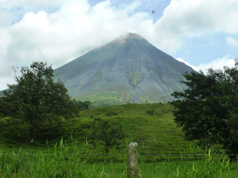 L'Arenal, le plus jeune volcan du Costa Rica