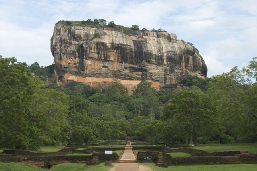 Les peintures de Sigiriya