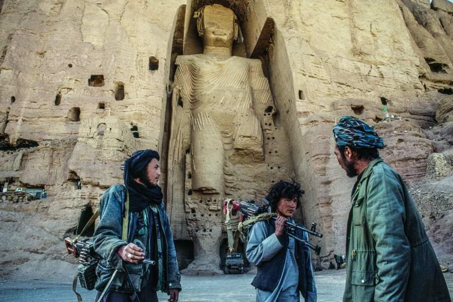 Les milices hazara stockaient armes et munitions au pied des bouddhas géants