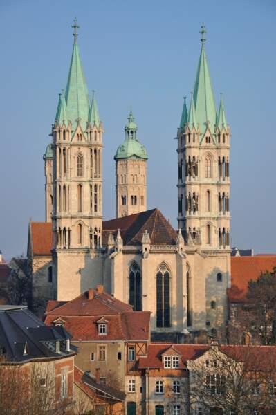 La cathédrale de Naumburg, en Allemagne