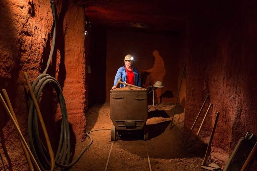 Une vie passée dans la mine