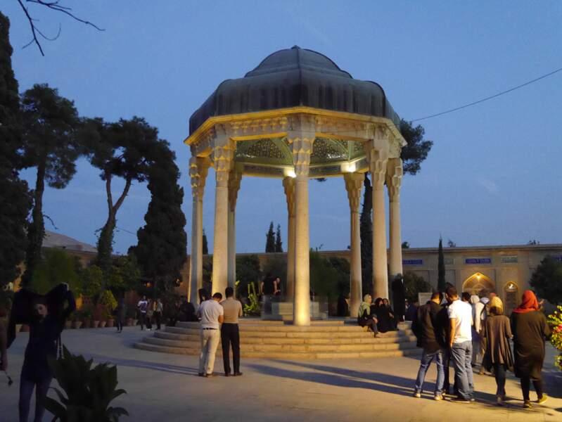 Mausolée du poète Hafez, à Shiraz