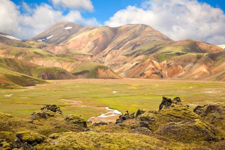 Spectaculaire site volcanique