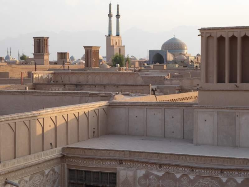 Vieille ville en pisé de Yazd