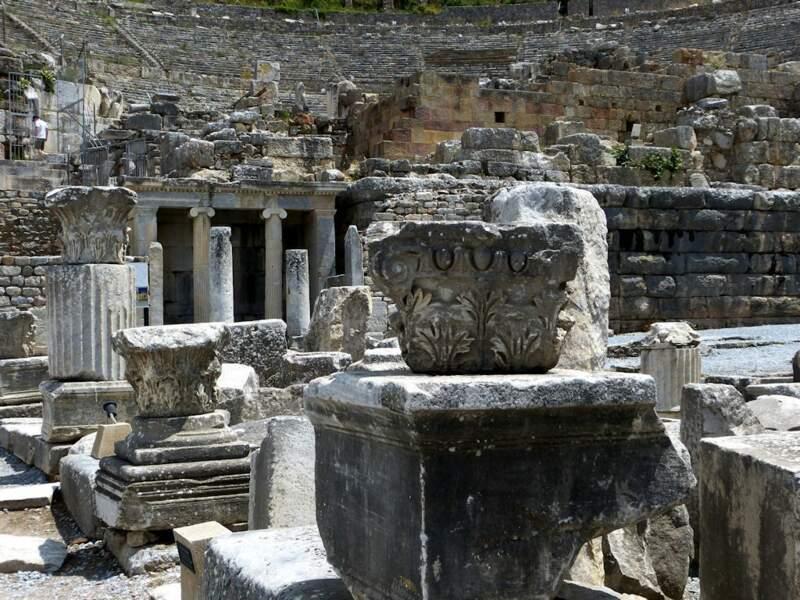 Photo prise à Ephèse (Turquie) par le GEOnaute : raymonde.contensous
