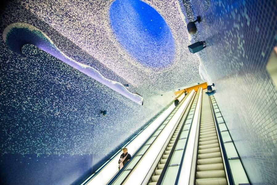 Dans le métro Dell'Arte