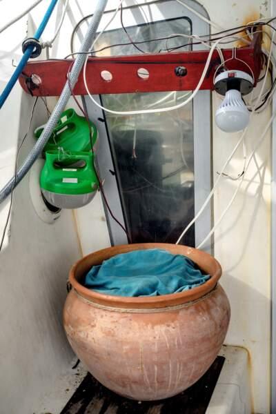 Le frigo d'argile, déniché au Maroc