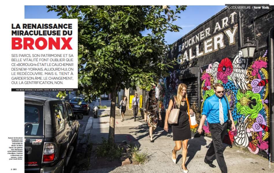 EN COUVERTURE : La renaissance miraculeuse du Bronx