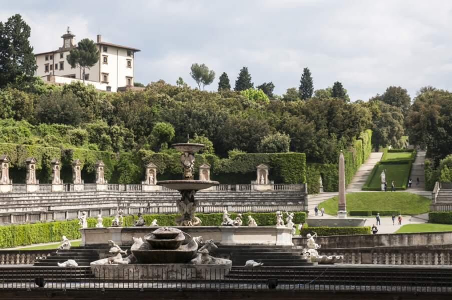 Jardin de Boboli, promenade dans le parc toscan avec Eléonore