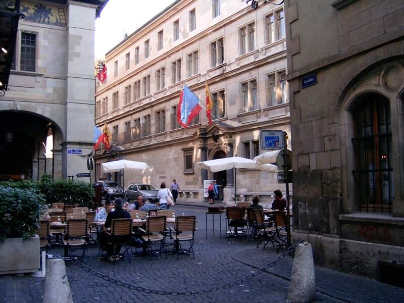Pour un séjour insolite à Genève