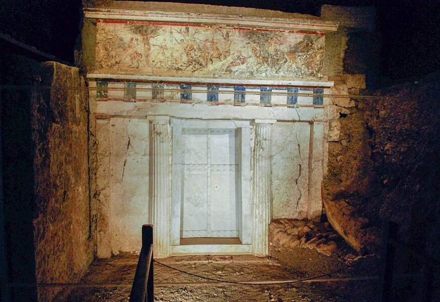 La tombe de Philippe II
