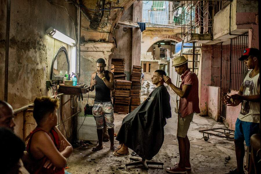 """""""Cuba à l'aube du changement"""" - Vie quotidienne, 1er prix (catégorie Série)"""
